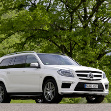 The GL63 gets a new front end that is more vertical and larger air intakes