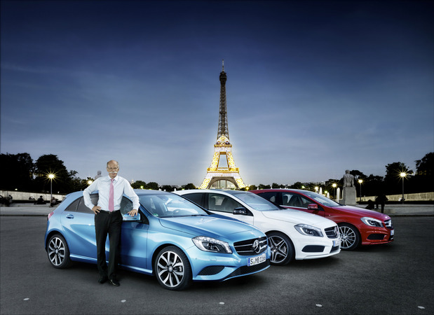 Mercedes has been expanding into the small car market and using Nissan to help it