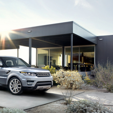 The Range Rover Sport shares its platforms with the larger Range Rover