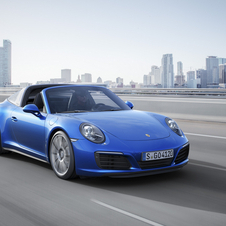 The all-wheel drive models not only include the numerous optical refinements of the new 911 Carrera generation...