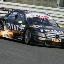 Schumacher raced in the DTM from 2008 to 2012