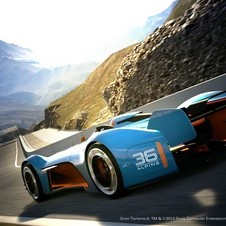 Renault describes the Vision Gran Turismo as a crossroad between the past, present and future of the history of Alpine