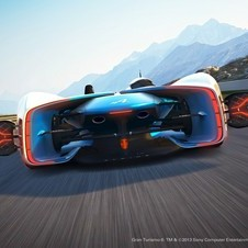 Gran Turismo 6 players will be able to download the Alpine Vision Gran Turismo in March