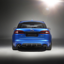 The appearance of the XFR-S Sportbrake is further enhanced through the use of gloss black trim