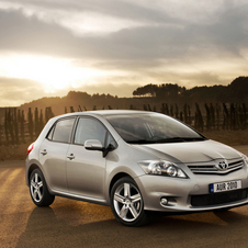 Toyota Auris 1.33 VVT-i Start & Stop Active