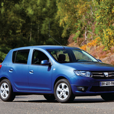 There are four engine options for the Sandero and Logan