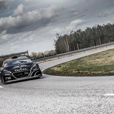 Peugeot hopes that it will set the new record up Pikes Peak