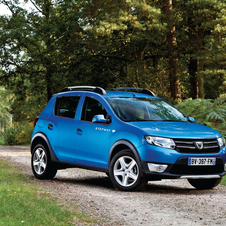 The Stepway is offered in two trims either basic or loaded with usually optional features