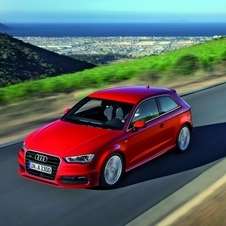 In Europe, the A3 is the bestseller