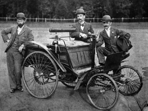 Benz Velociped 3 hp