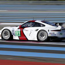 The car is the same model that races at Le Mans