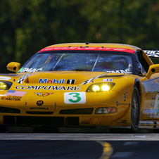 The C5-R went racing in 1999