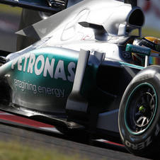 Wolff says that Mercedes is balancing how much to spend to keep this year's car in the championship