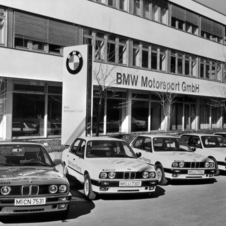 The M center is located just a few kilometers away from the BMW headquarters in Munich