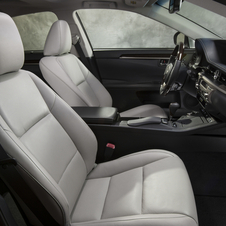 The front seats are 10-way power adjustable