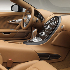 Special edition Veyron was lined in brown leather