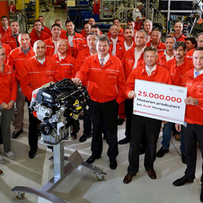 The Audi Hungaria factory has been building engines for the last 20 years