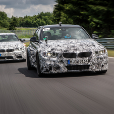 BMW is testing the M3 and M4 on the Nordschleife