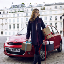Nissan Partners with Elle Magazine to Create Micra for Ladies