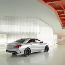 The new CLA will be placed below the C-Class in the brand's lineup