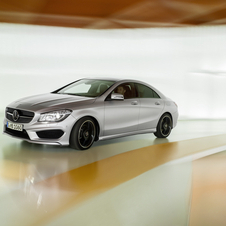 Some versions of the model will be available with 4MATIC technology