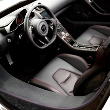A higher quality semi-aniline leather and Alcantara interior is also available