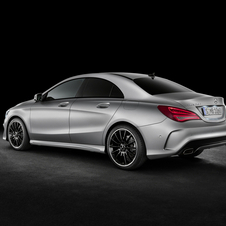 CLA180 BlueEFFICIENCY has a coefficient of drag of 0.22