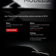 Tesla Revealing Model X Crossover on Internet on February 9