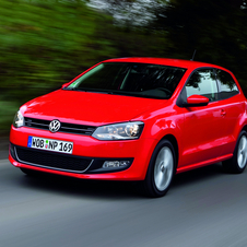 The Volkswagen Polo will get a slight refresh in 2014 with a new nose and rear