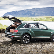 Bentley Bentayga Fly Fishing