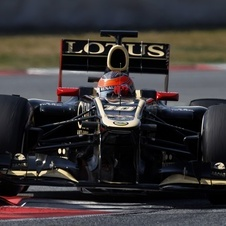 Lotus Proves New Chassis with Fastest Time in Practice