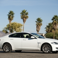 Jaguar Diesel XF Arrives in Los Angeles