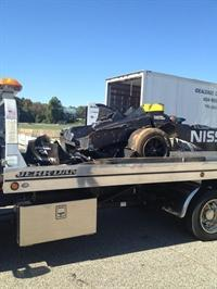 Deltawing Crashes During Petit Le Mans Practice