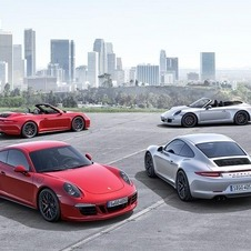 The four versions Carrera GTS have a 430hp output and are equipped with the Sport Chrono package