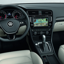 O interior do novo Volkswagen Golf