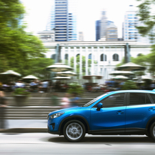 The CX-5 is selling four times better than expected