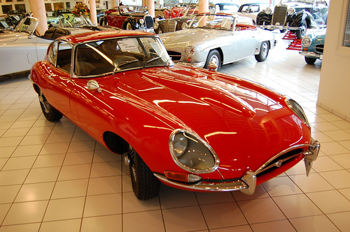 Jaguar E-Type 3.8