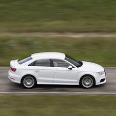 The A3 Sedan launched in Europe in October