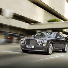 Bentley will also show the Mulsanne Mulliner Driving Specification