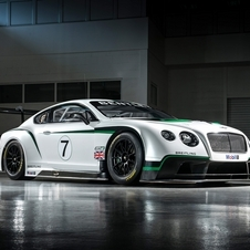 The Bentley will make its track debut in December at Yas Marina