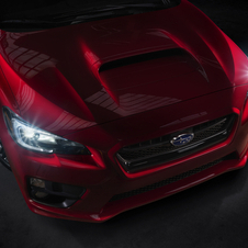 The first teaser image of the new WRX is quite similar to the concept