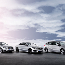 The A-Class and B-Class get new 160 CDI base engines