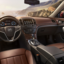 The interior gets an upgraded infotainment system