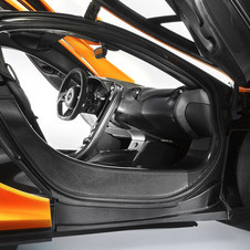 McLaren even shaved off the final layer of resin to reduce weight