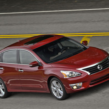 The new Altima is available with either a V6 or four-cylinder engine