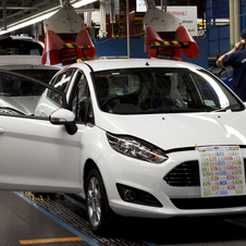 Ford is adding more technology to the Fiesta with the refresh and more unified styling