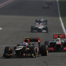 The switch to a new chassis seems to have boosted Grosjean's performance