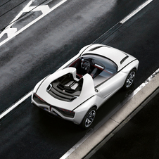 For the roadster, the passenger compartment and engine are open to each other