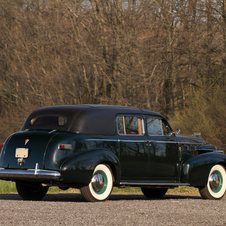 Cadillac Series 72 Seven-Passenger Formal Sedan by Fleetwood