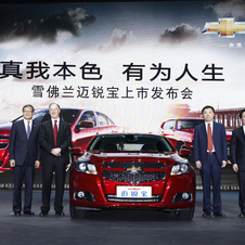 It has partnered with Chinese automaker SAIC in a joint venture